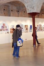 Фотография с Коммиссии 2008: Иностранные комиксисты на выставке