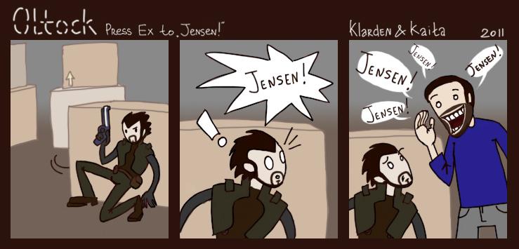 "Press Ex to ""Jensen!"" - Oltock - Олток - 0170ck"